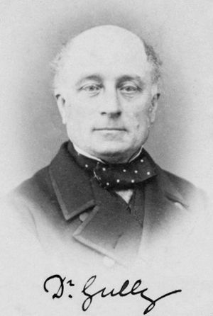 James Manby Gully - James Manby Gully in the 1860s