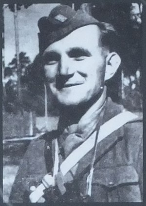 1st Czechoslovak Partisan Brigade of Jan Žižka - Lieutenant Ján Ušiak, unit's 1st commander