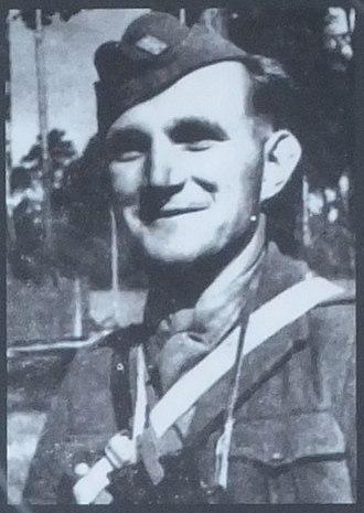 Jan Žižka partisan brigade - Lieutenant Ján Ušiak, unit's first commander