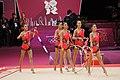 Japan Rhythmic gymnastics at the 2012 Summer Olympics (7915172794).jpg