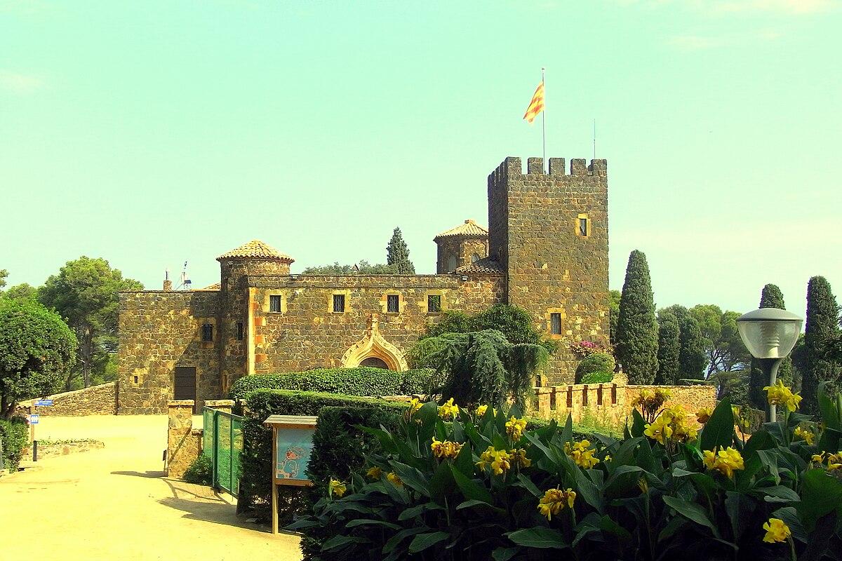 Castillo de cap roig wikipedia la enciclopedia libre for Jardines cap roig