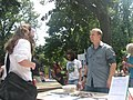 Jason Wallace, Green Party Candidate in 11th Congressional District @ Festival ISU (1231843132).jpg