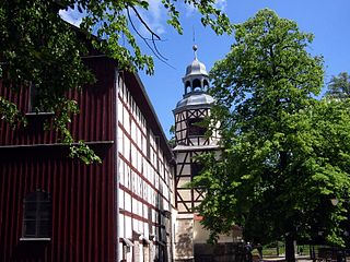 Churches of Peace wooden church