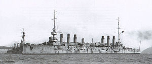 French cruiser Jeanne d'Arc (1899) - Image: Jeanne d Arc Marius Bar