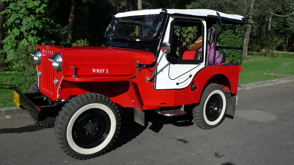 File:Jeep-willys-colombia-bogota-01.jpg - Wikimedia Commons