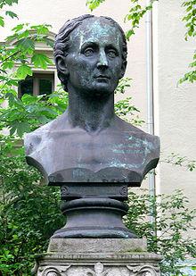 Denkmal für Fries am Fürstengraben in Jena von Robert Härtel (Quelle: Wikimedia)