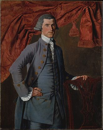 John Mare (painter) - Jeremiah Platt by John Mare, in the collection of the Metropolitan Museum of Art