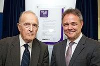Jeremy Farrar and David Weatherall at RILD launch (14425802043).jpg