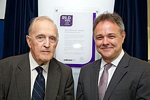 Jeremy Farrar and David Weatherall at RILD launch (14425802043).jpg