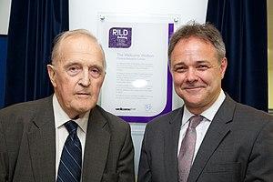 David Weatherall - Image: Jeremy Farrar and David Weatherall at RILD launch (14425802043)
