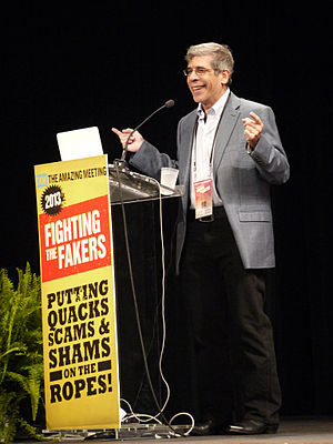 "Jerry Coyne - Jerry Coyne (at podium), at ""The Amaz!ng Meeting 2013"""