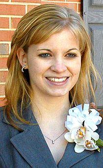 Jessica Lynch at Walter Reed Army Medical Center 2004.jpg
