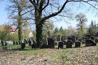 Sobědruhy - Jewish cemetery at Sobědruhy