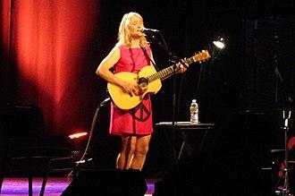 Jill Sobule - Sobule performing at The Somerville Theater near Boston, Mass. on June 18, 2013.
