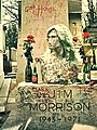 Jim morrisons ever-changing memorial paris (1987) (6990932689).jpg