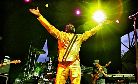 Jimmy Cliff performing at Raggamuffin Music Festival#2011 Jimmy Cliff Raggamuffin Music Festival 2011 (5414933359).jpg