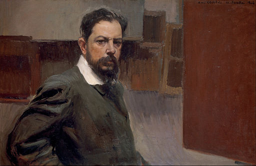 Joaquín Sorolla y Bastida - Self Portrait - Google Art Project