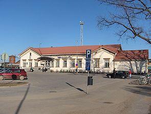 Joensuun rautatieasema pysäköinti
