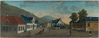 Rådhusalmenningen in Bergen
