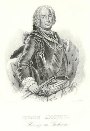 Johann Adolf II, Duke of Saxe-Weissenfels - Image: Johann Adolf II Saxe Weissenfels
