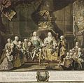 Johann Gottfried Hain Maria Theresia und Franz Stephan m it Familie 1760.jpg