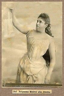 Johanna André German soprano