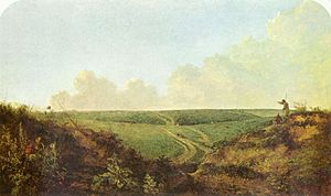 Norwich - Mousehold Heath, Norwich by Norfolk-based artist John Crome