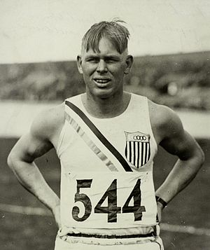 John Kuck - John Kuck at the 1928 Olympics