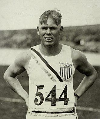 John Kuck - John Kuck at the 1928 Olympics