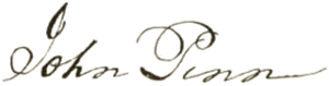 John Penn (North Carolina politician) - Image: John Penn signature