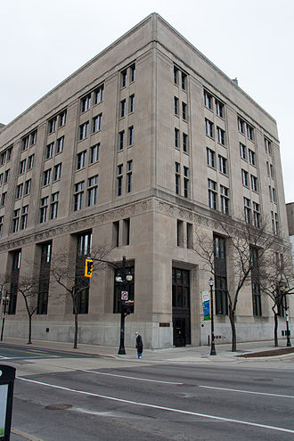 John Sopinka - The John Sopinka Courthouse named for the first Ukrainian-Canadian justice of the Supreme Court of Canada.