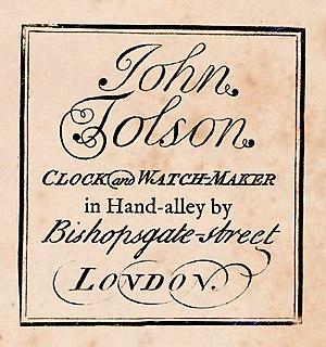 John Tolson (clockmaker)
