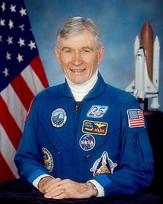 John Young (astronaut) - Image: John Watts Young