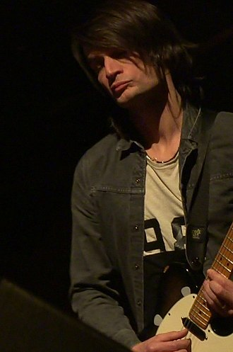 Jonny Greenwood - Greenwood performing with the London Contemporary Orchestra in Geneva, 2015
