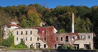 Jordan, Minnesota - Jordan Brewery Ruins Autumn 2015
