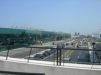 Jorge Chávez International Airport - Image: Jorge Chavez Airport Lima