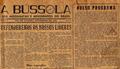 """Jornal """"A Bússola"""" nº 1, 1952.png"""