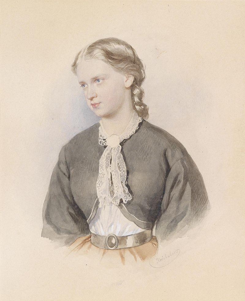 Josef Kriehuber Bildnis eines blonden Mädchens.jpg