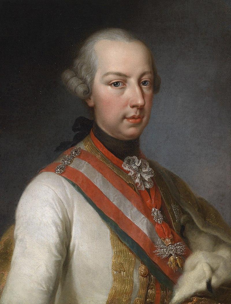 Joseph Hickel (attr) Joseph II als Mitregent seiner Mutter.jpg