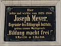 Joseph Meyer Gedenktafel Hildburghausen.jpg