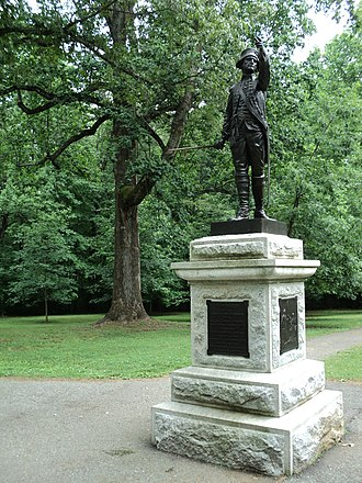 Joseph Winston - Monument to Major Joseph Winston, Guilford Courthouse National Military Park