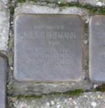 Julius Gutmann Stolperstein Osterath.PNG