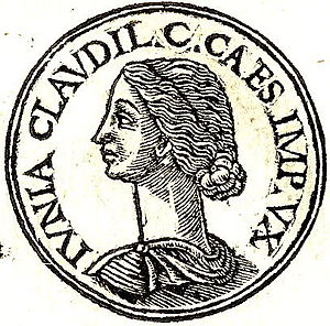 "Junia Claudilla - Junia Claudilla from ""Promptuarii Iconum Insigniorum """