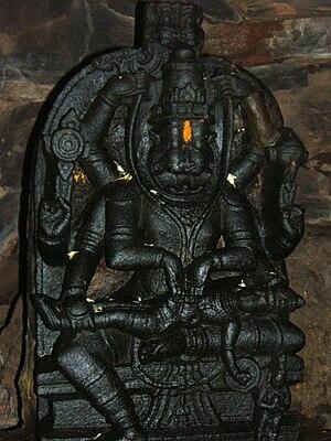 Reddy dynasty - Lord Narasimha, Narasimha Swamy Temple, Ahobilam