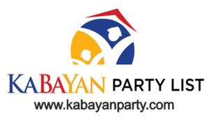 Kabalikat ng Mamamayan - Official Kabayan Partylist Logo