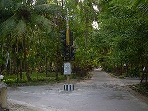 Kavaratti - Image: KAVARATTI MAIN ROAD