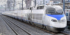 Transport in South Korea - KTX train