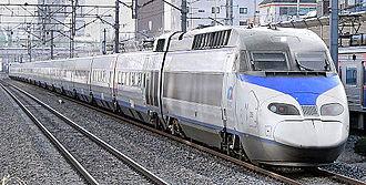 Transport in South Korea - KTX train