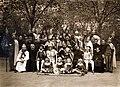 Kalocsa 1930, színielőadás szereplői. Fortepan 100121.jpg
