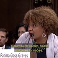 File:Kamala Harris and Fatima Goss Graves during the The Infant Patient committee hearing.ogv